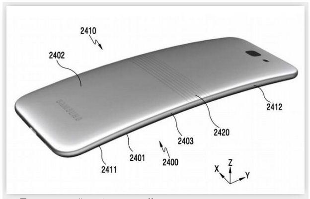三星Galaxy X,可以弯曲折叠的手机